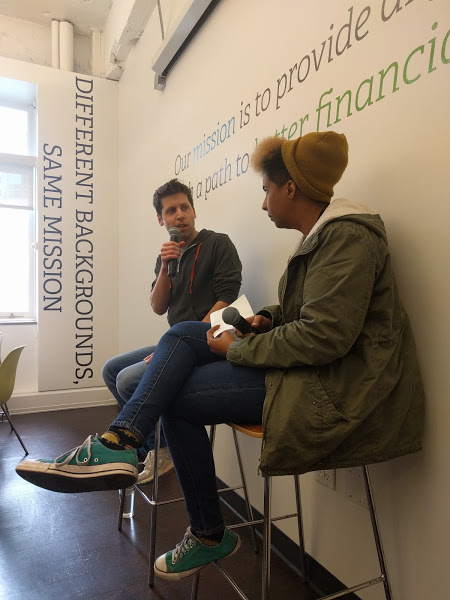 Sam Altman of Y Combinator and Hallie Lomax of  LendUp discuss Future, Tech and Being Gay
